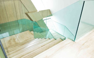Impression eines Treppenhauses.